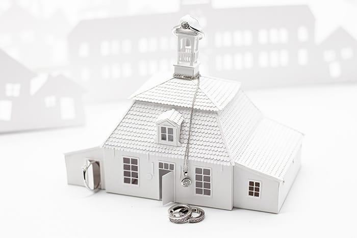 Gerlach Pingelhuus als Papierhaus