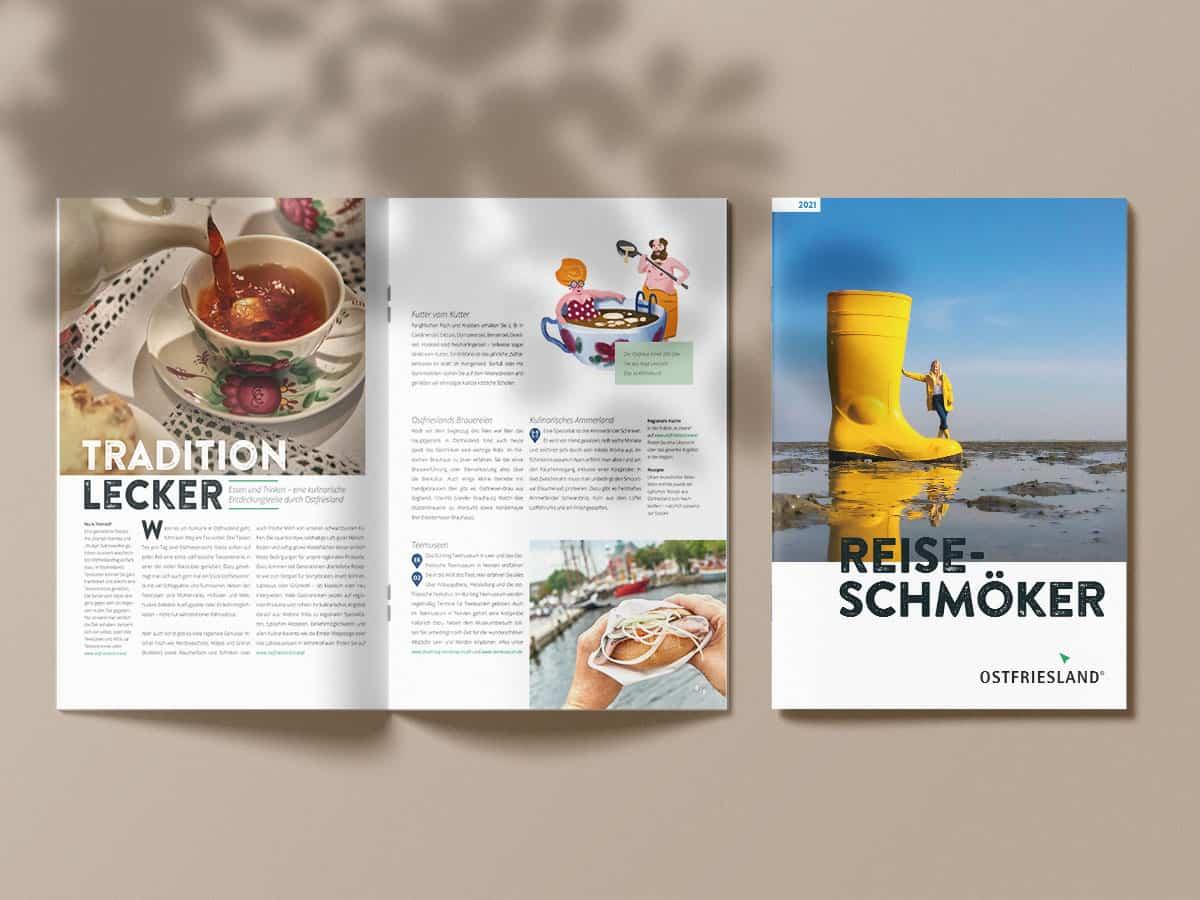 Reiseschmöker der Ostriesland Tourismus GmbH