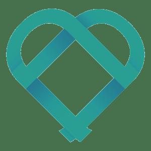 Praxisim Hufeisen Herz Logo