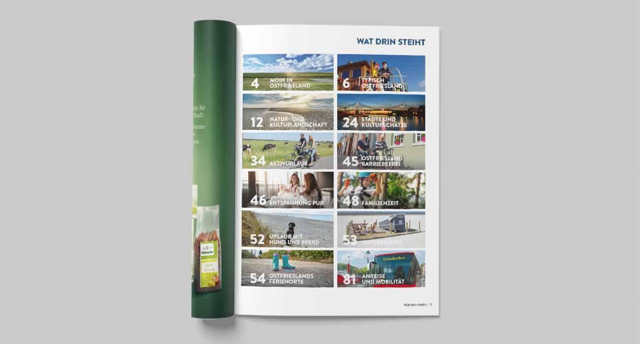 Reiseführer der Ostriesland Tourismus GmbH