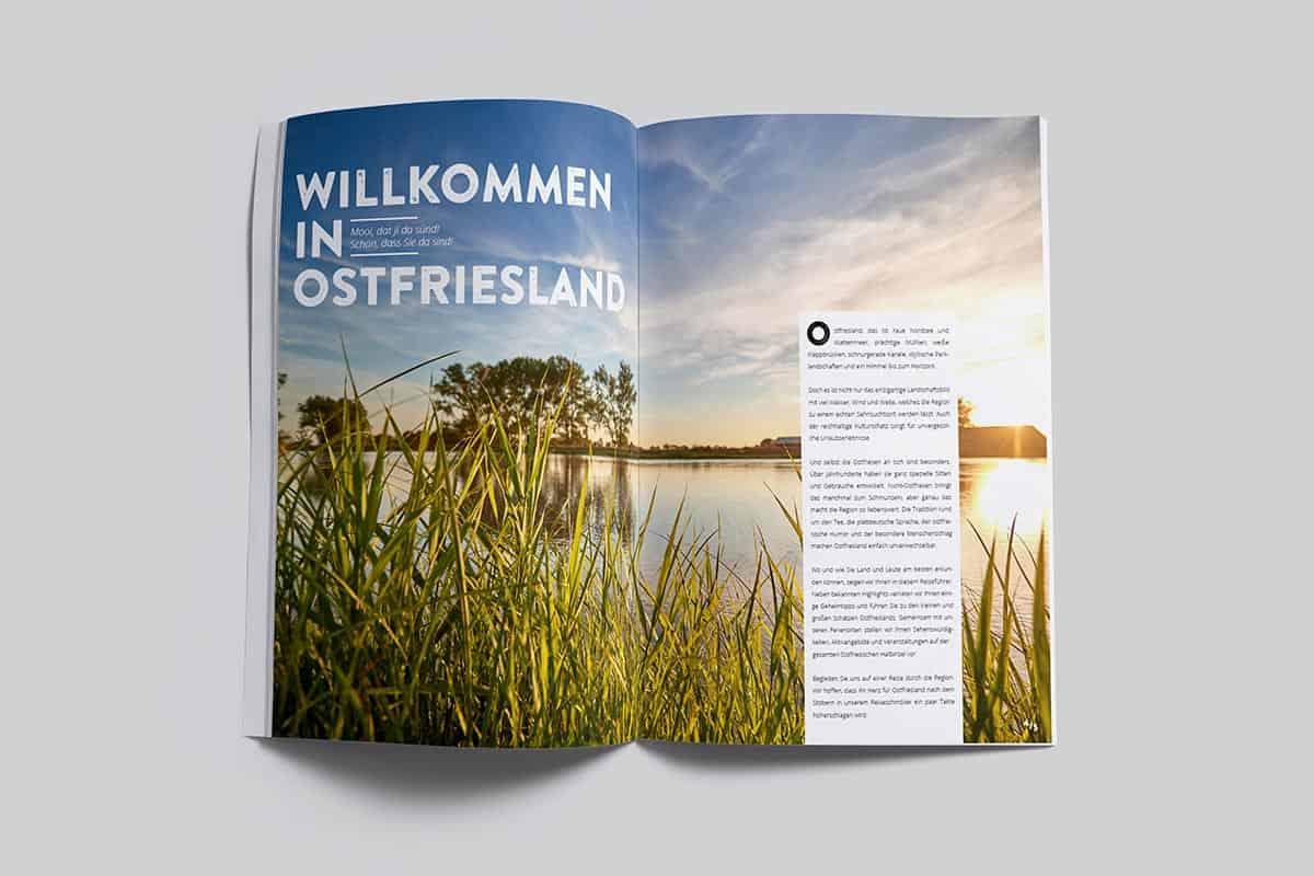 Reiseführer der Ostriesland Tourismus GmbH Neu