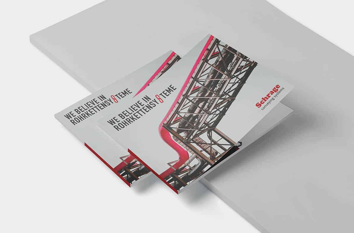 Kataloge der Firma Schrage