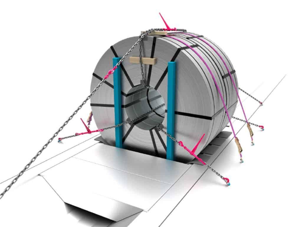 Man sieht ein 3D animiertes Bild von der Firma Thyssenkrupp